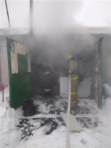 Пожарно-спасательные подразделения привлекались для ликвидации пожара в  г. Кемь.