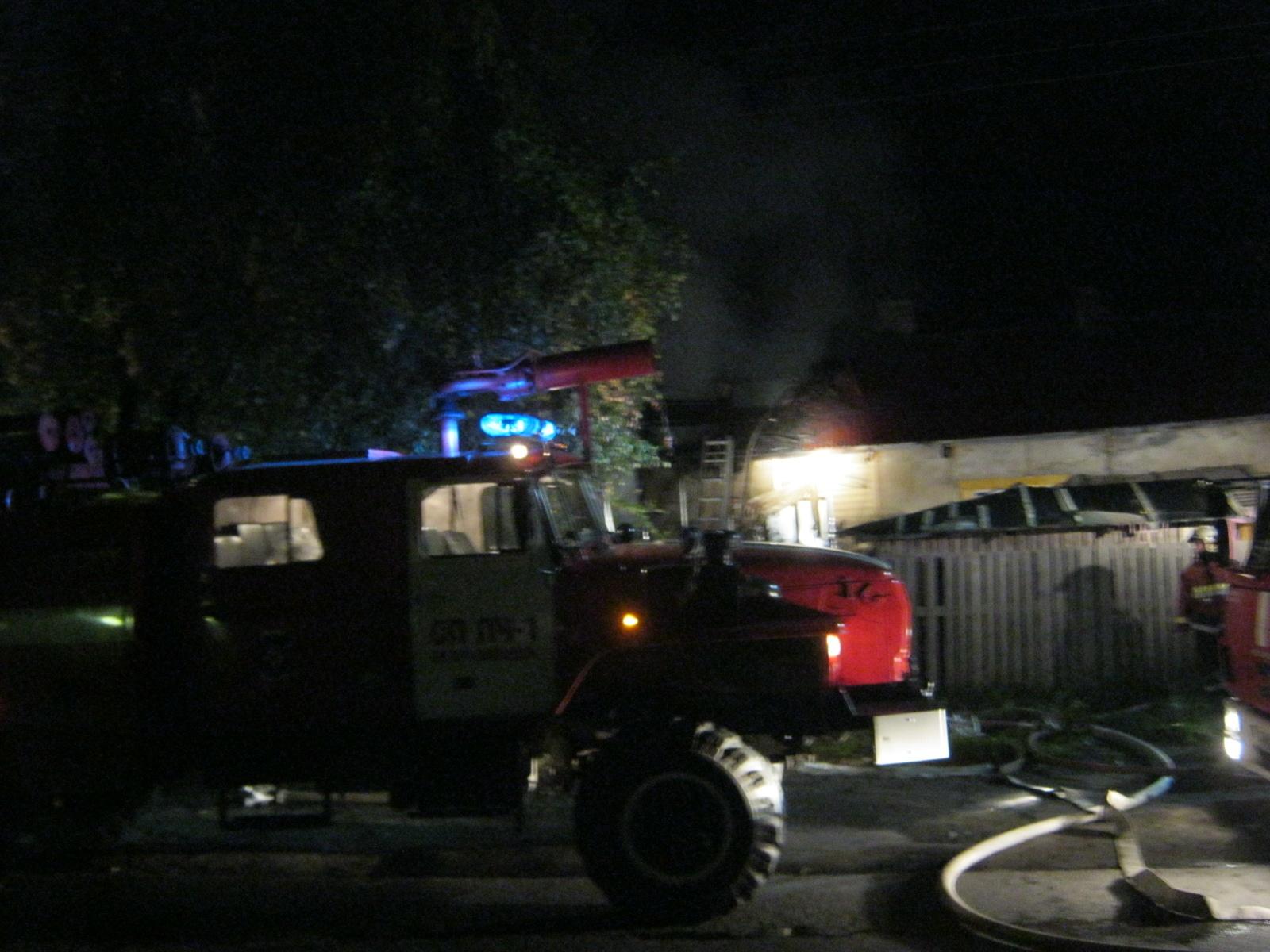 Пожарно-спасательные подразделения привлекались для ликвидации пожара в Олонецком районе.