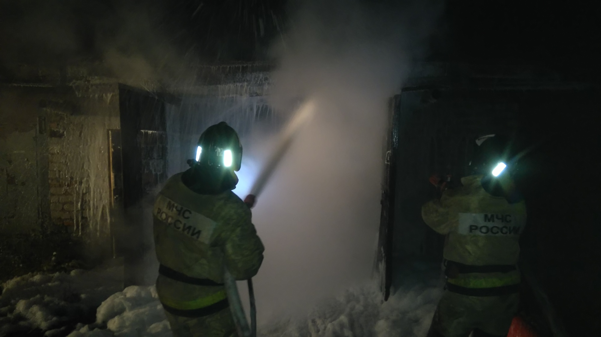 Пожарно-спасательные подразделения ликвидировали пожар в г. Петрозаводске.