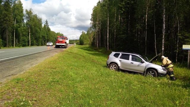 Пожарно-спасательное подразделение привлекалось для ликвидации ДТП в Пудожском районе.