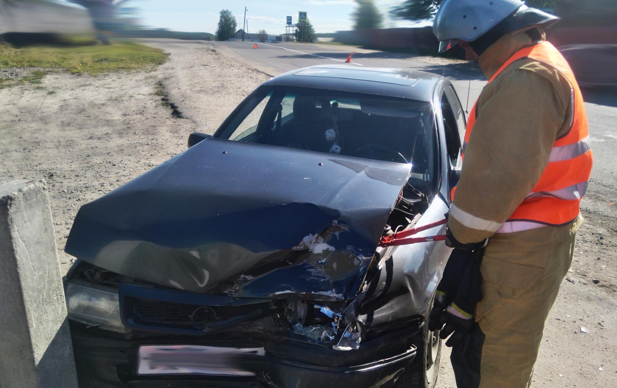 Пожарно-спасательное подразделение привлекалось для ликвидации ДТП в Медвежьегорском районе.