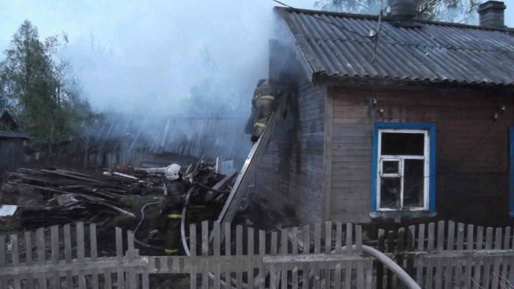 Пожарно-спасательные подразделения привлекались для ликвидации пожара в Питкярантском районе.