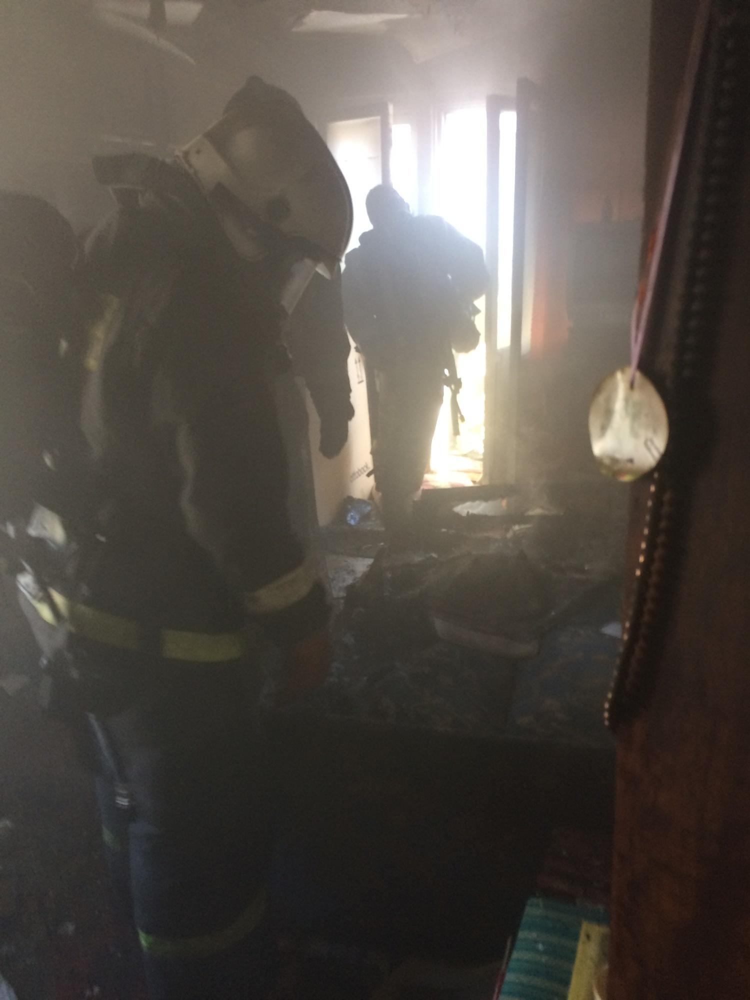 Пожарно-спасательные подразделения привлекались для ликвидации пожара в г. Кондопоге.