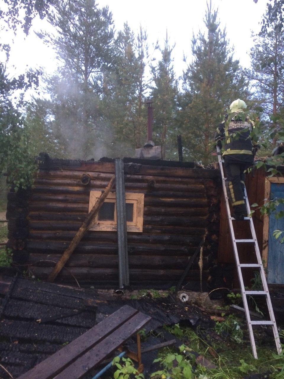 Пожарно-спасательные подразделения привлекались для ликвидации пожара в Пудожском районе.